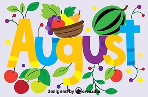 Векторне зображення: August