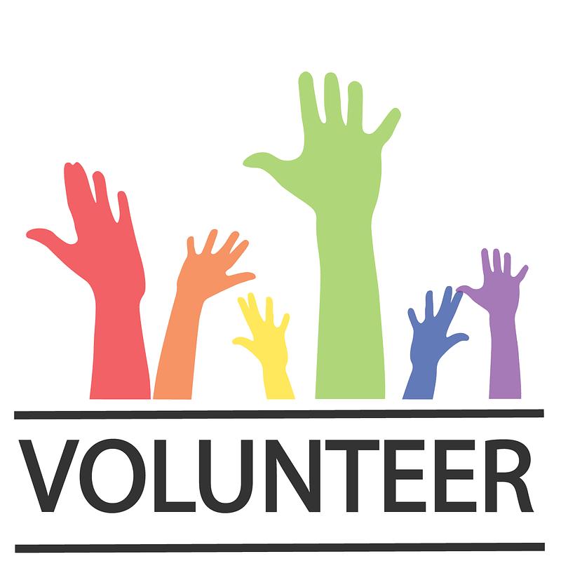 Grafika wektorowa: Ulotka dla wolontariuszy