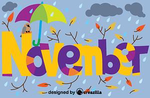 November vektor