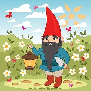 Векторное изображение: Gnome