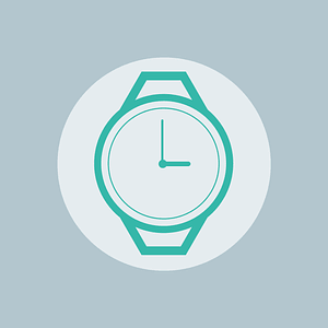 Hand Clock Icon vector
