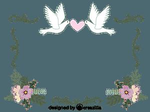 Wedding Border vector