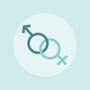 Gender Background vector