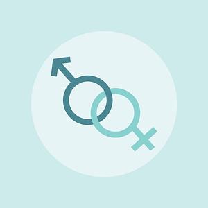Gender Background vector