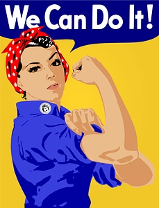 We Can Do It Poster vector