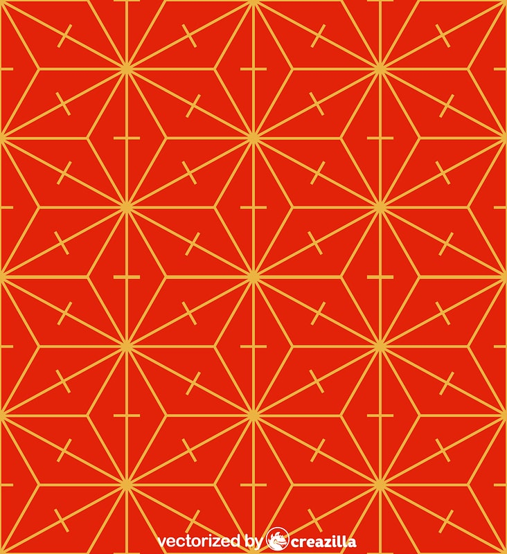 Chinese - Japanese pattern vector
