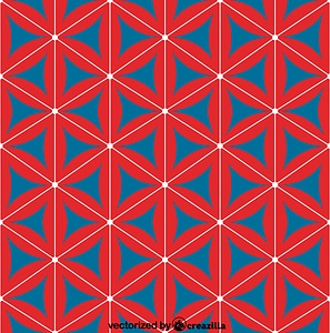 Chinese - Japanese pattern vektori