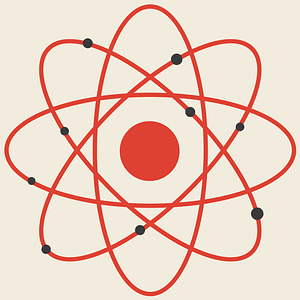 Atom Background vector