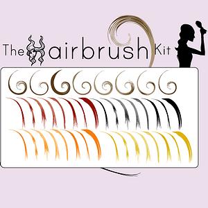 Hair Brushes vector