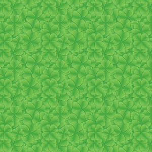 Clover Leaf Background for Saint Patrick's Day vector