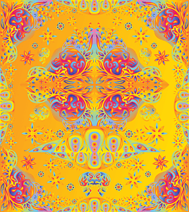 Psychedelic Elements Package vector