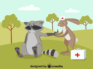 Doctor animal vector