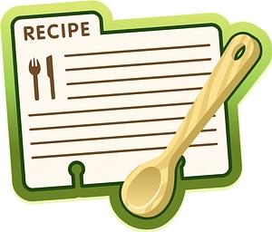 Recipe Label vector