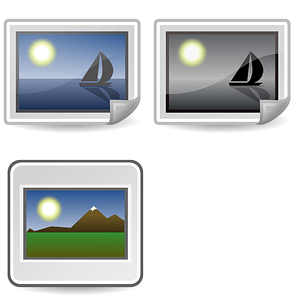 Image Icons vector