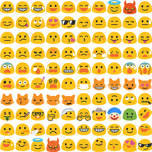 +220 Noto Color Emoji Smilies vector