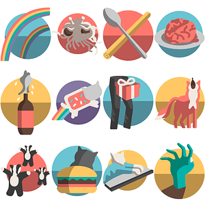 Memes Icons vector