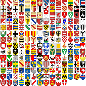 +150 Coats of Arms vector