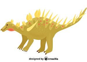 Kentrosaurus vector