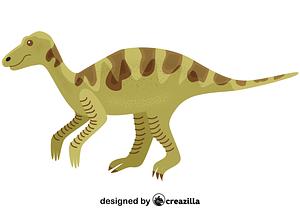 Maiasaura vector