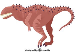 Majungasaurus vector