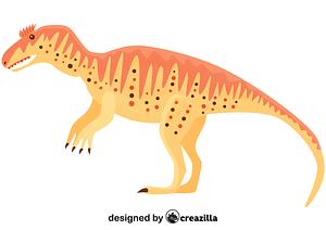 Metriacanthosaurus vector