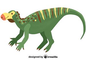 Muttaburrasaurus vector