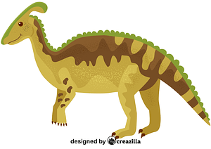 Parasaurolophus vector