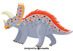Pentaceratops vector