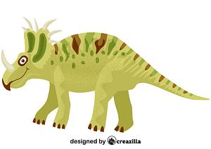 Styracosaurus vector