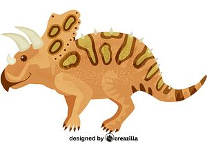 Torosaurus vector