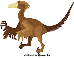 Troodon vector
