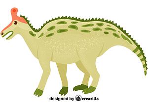 Tsintaosaurus vector