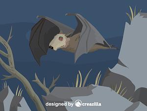 Immagine vettoriale di Hammer-headed bat