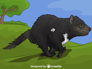 Tasmanian Devil vector