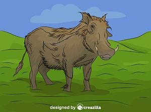 Warthog vector