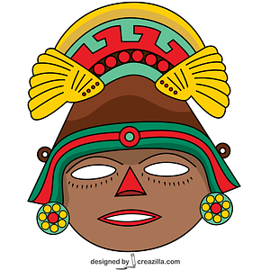 Aztec Mask vector