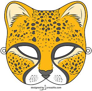 Cheetah Mask vector