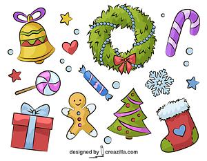 December vector
