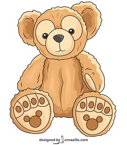 Duffy Bear vector