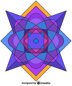 Kaleidoscope 02 vector