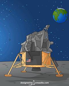 Lunar Lander vector