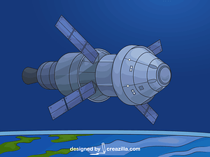 Orion Service Module vector