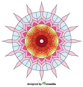 Hindu Mandala vector