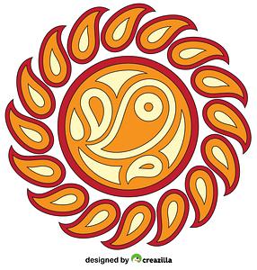 Paisley Mandala vector