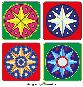 Pennsylvania Mandala 02 vector