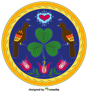 Pennsylvania Mandala vector