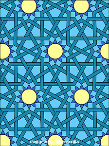 Islamic Ornament Mosaic vector
