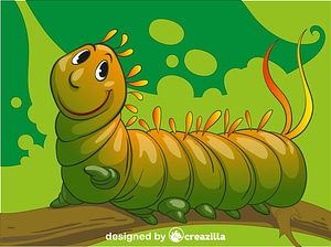 Caterpillar vector