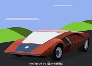 1970 Lancia (Bertone) Stratos HF Zero vector