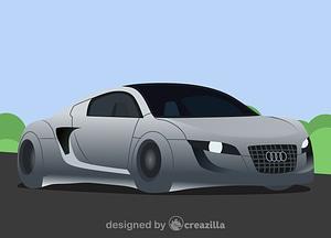 Audi RSQ vector